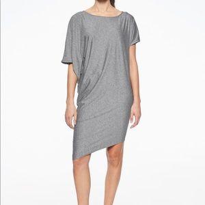 Athleta sunlover hilo heathered gray dress L